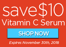 Save $10 on Vitamin C Serum